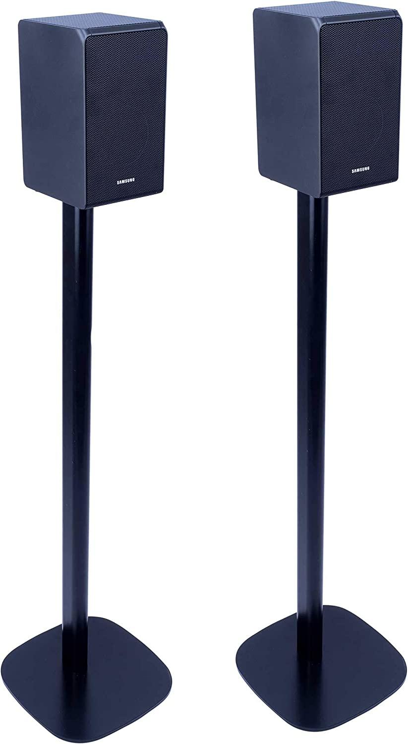 Vebos Floor Stand Samsung HW-N950 Black Set en Optimal Experience in Every Room - Allows You to Place Your Samsung HW-N950 Exactly Where You Want it - Two Years Warranty