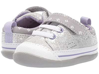 See Kai Run Kids Stevie II (Infant/Toddler) (Silver Leather) Girl