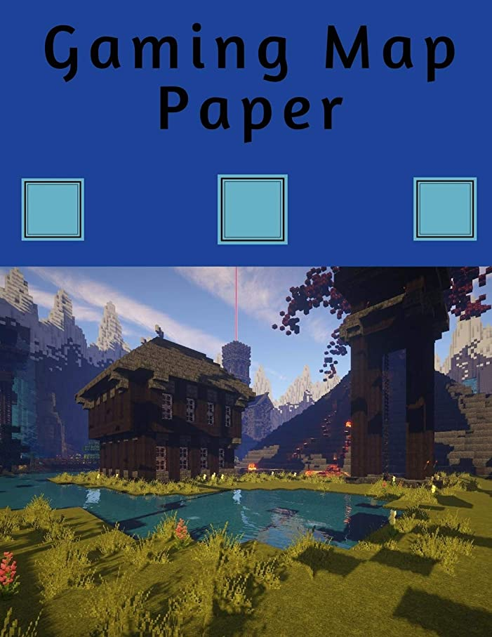恥悪質な退屈させるGaming Map Paper: 1 Inch Hexagonal Grid Paper Large Hexagons: 8.5