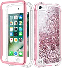Caka iPod Touch 5 6 7 Case for Girls, iPod Touch Case 5th 6th 7th Generation Glitter Full..