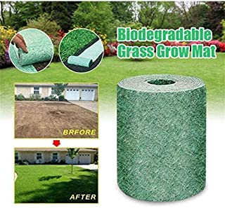 LOVER Biodegradable Grass Seed Mat No Seeds,Grass Grow Mat L