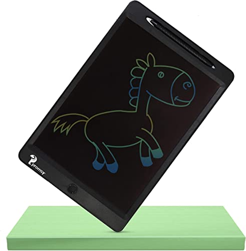 Proffisy LCD Writing Tablet 11 5 Inch Electronic Writing Board Doodle and Scribble Board Magnetic MeMO Notes for Kids and Adults at Home 11 5inch Recharge Multicolor black