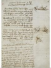 GREATBIGCANVAS Poster Print Codex on The Flight of Birds, by Leonardo da Vinci, 1505-1506. Royal Library, Turin by Leonardo da Vinci 22