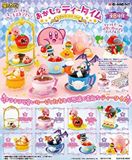 Re-Ment Miniature Star Kirby Tea Time Sweets Party Full Set 8 Packs
