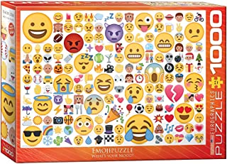 EuroGraphics Emoji What's Your Mood? (1000 Piece) Puzzle