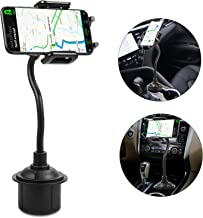 Universal Cup Holder Cell Phone Car Mount,LUXMO Car Phone Mount Adjustable Car Cup Holder Smartphone Mount Cradle for iPhone Xs Max XR X 8 7 Plus Galaxy Note 9 S10 S9 Plus Google LG Motorola …