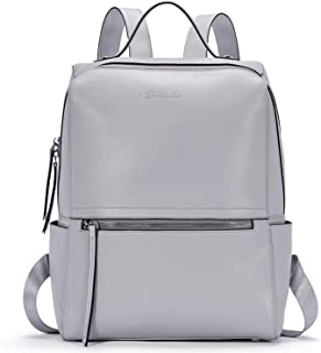 BOSTANTEN Genuine Leather Backpack Purse Fashion Casual College Travel Handbag for Women