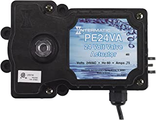 Intermatic PE24VA Valve Actuator, Black