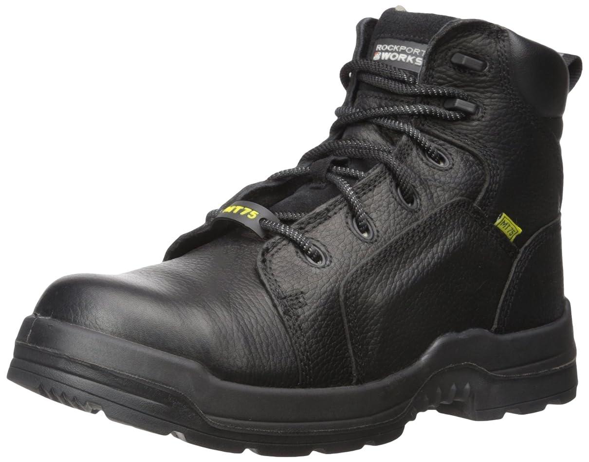 扇動するプラスチック示すRockport Work Men's More Energy Rk6465 Work Shoe