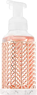 Bath and Body Works ROSE GOLD CHEVRON Gentle Foaming Soap Holder