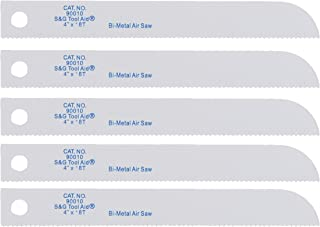 Tool Aid S&G (90010) Reciprocating Air Saw Blades, Pack of 5