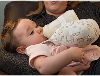 Baby Bottle Holder - Hands-Free - The Willow Pillow