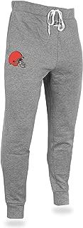 Zubaz Men's Officially Licensed NFL Solid Team Logo Jogger Pants