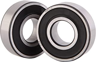 XiKe 2 Pack Lawn Mower Spindle Precise Ball Bearing, Replace MTD 741-0124, 941-0124. Husqvarna 532110485. JD 8535, 8504 & More. Quiet High Speed and Long Life.