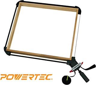 POWERTEC 71017 Quick Release Band Clamp | Woodworking Frame Clamping Strap Holder