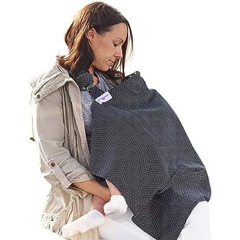 Beige Material suave Mant/ón para dar el pecho Neotech Care