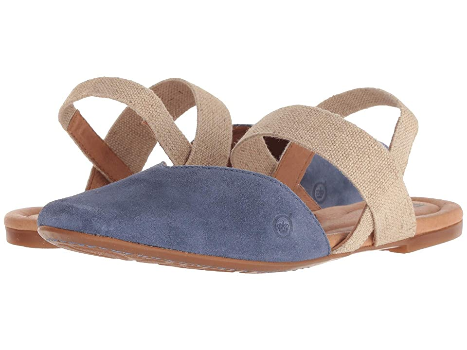 Born Chulu Annamaria Collection (Light Blue Suede) Women
