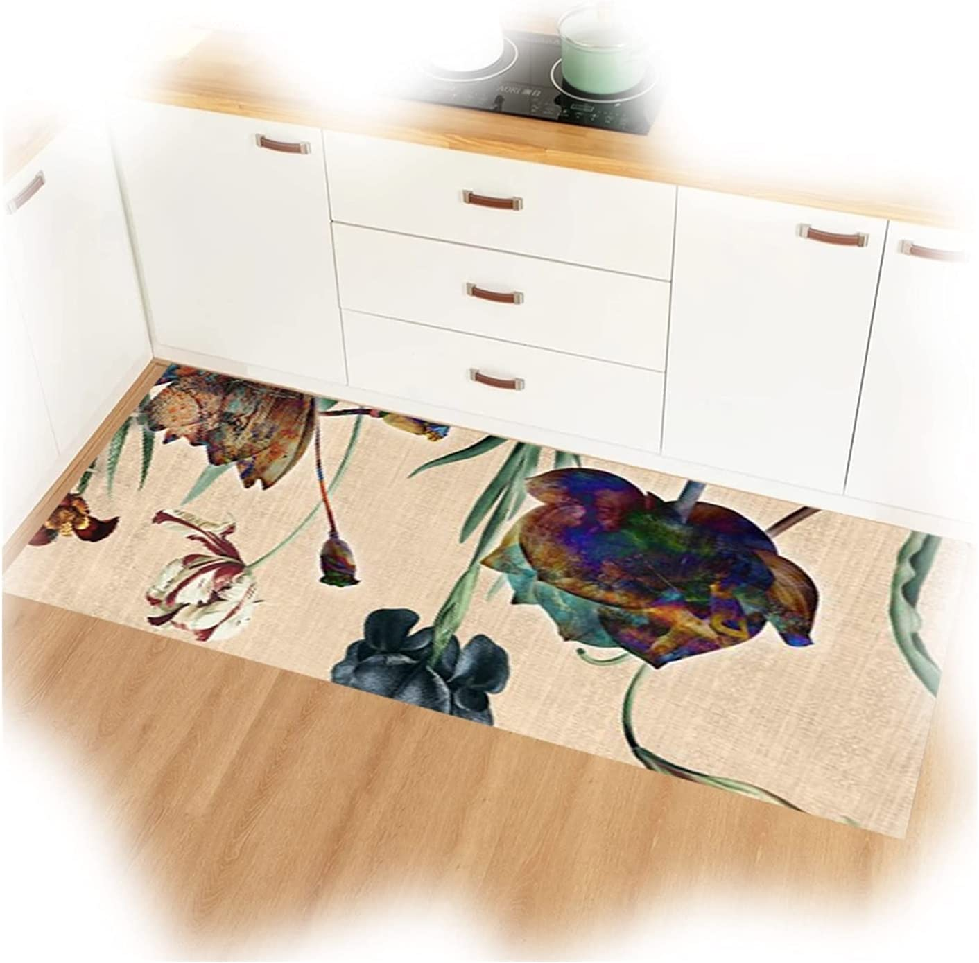 LIXIONG Modern Area Rug Soft Hallway Outlet sale feature Touch Abstract Ru Non-Slip low-pricing