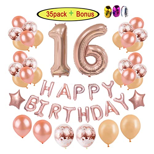 16th Birthday Decorations Party Supplies For Girls