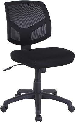 Lorell Mesh Back Task Chair, Black
