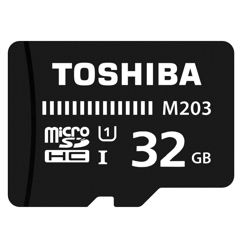 Toshiba Carte Micro Sd 32 Go M203 Carte Micro Sdhc Uhs I U1 Classe 10 Microsd 32 G 100 Mo S Amazon Fr Informatique
