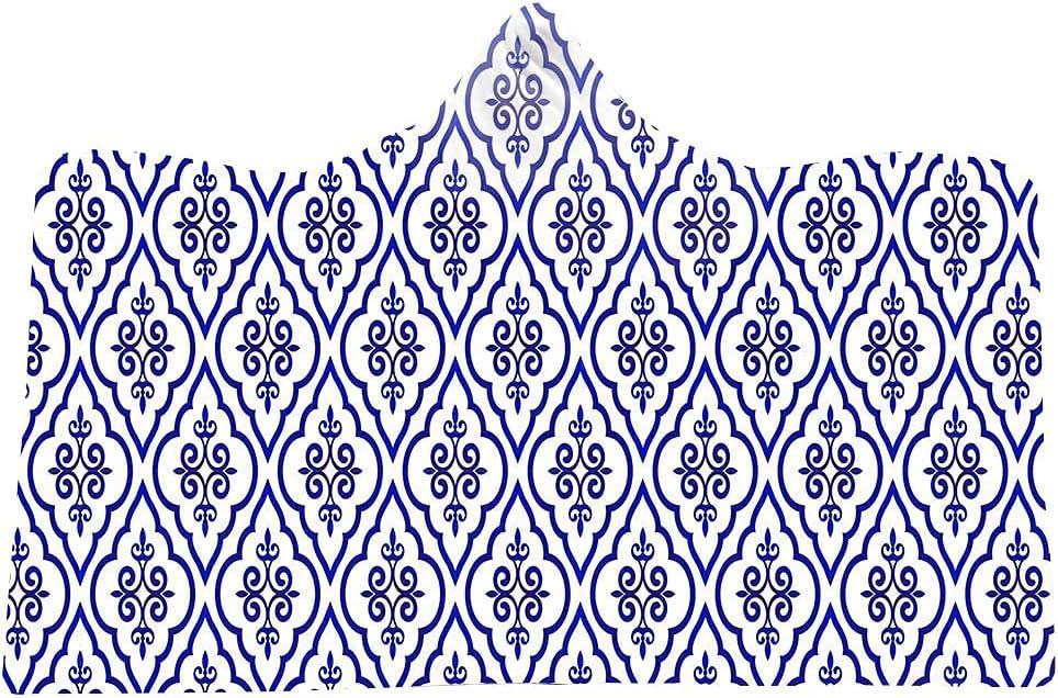 Boho Elegant Mandala trust Bohemian Ethnic Hooded Max 76% OFF Blanket Wear Pattern