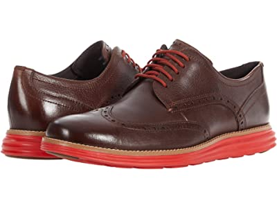 Cole Haan Original Grand Shortwing (Chestnut/Molten Lava) Men
