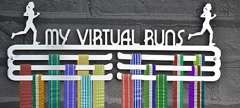 Running Medal Display Hanger- Virtuele Runner Vrouw