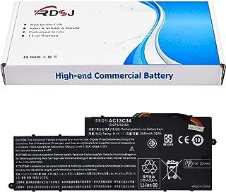 AC13C34 Laptop Battery Compatible Acer Aspire V5-122p Series 3icp5/60/80 Kt.00303.005 11.4V 2640mAh/30Wh