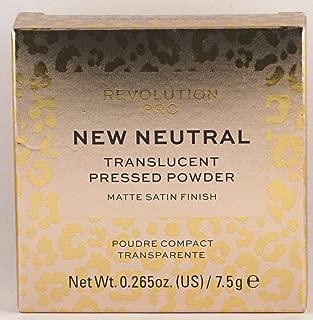 Makeup Revolution Pro New Neutral Translucent Pressed Powder