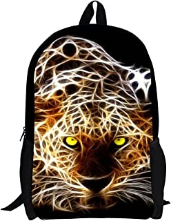 Ledback Animal School Bag for Boys Girls Customized Backpack 16 Inch Satchel 3D