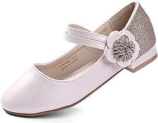 EKM7009 Mary Jane Tacon bajo Zapatos Vestir Fiesta de Formal Princesa Zapatos para Niñas Primavera Verano Zapatos COMUNIÓN Zapatos