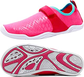 AMAWEI Water Shoes for Kids Boys Girls Quick Dry Beach Swim Surf Shoes for Pool Sport Walking