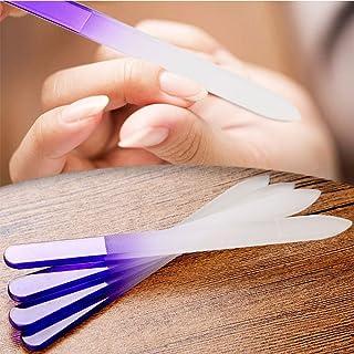 Ocamo Nail Files Crystal Glass File Buffer Manicure Device Polishing Nail Art Decorations Tool 4pcs