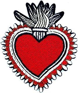Red Heart Sacred Heart Beautiful of Love Cartoon Children Kid Patch Clothes Bag T-Shirt Jeans Biker Badge Applique Iron o...