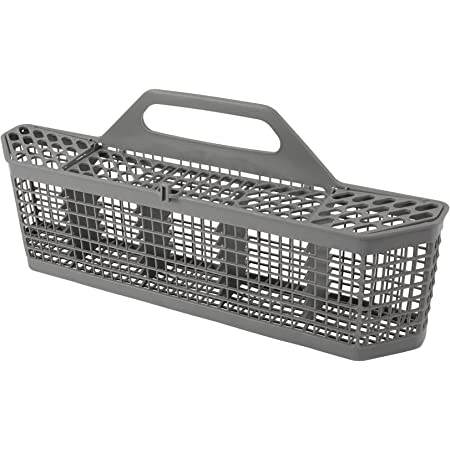 WD28X10132 AH959351 EA959351 Replaces 1088673 PS959351 Compatible with GE Dishwashers WD28X10127 WD28X10128 Silverware Basket by PartsBroz