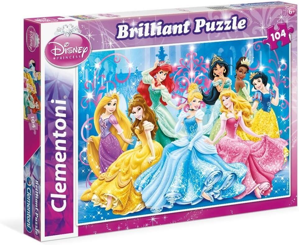 Puzzle /á paillettes 27248.8 104 Pi/èces La Reine des Neiges Clementoni