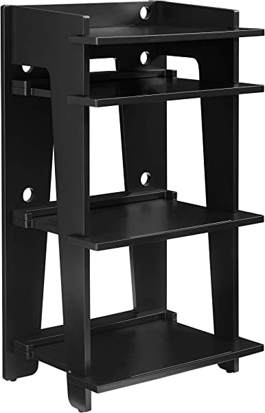 Crosley Furniture CF1112 BK Soho Turntable Stand Black