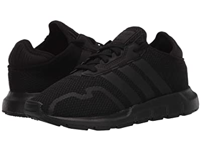 adidas Originals Kids Swift ESS C (Little Kid) (Core Black/Core Black/Core Black) Kids Shoes