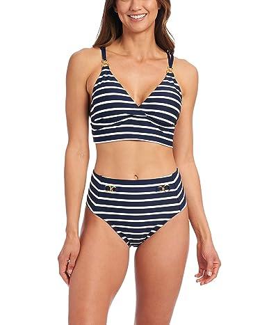 La Blanca Capri Stripe Midkini