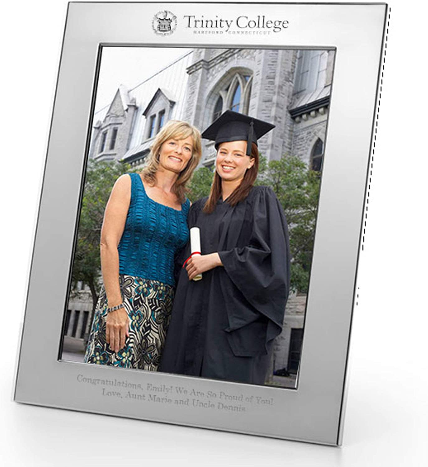 M. LA HART Trinity College Pewter Picture Polished 8x10 specialty shop Frame price