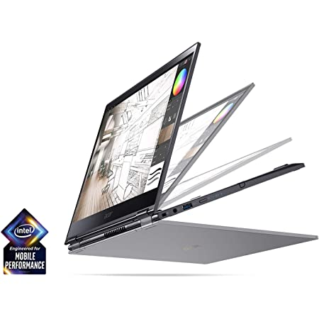"Acer Spin 5 13.3"" FHD Touch Screen 2-in-1 Laptop with Intel Quad Core i7-8565U Processor up to 4.60 GHz, 16GB Memory, 512GB SSD, Backlit Keyboard, and Rechargeable Active Stylus Included"