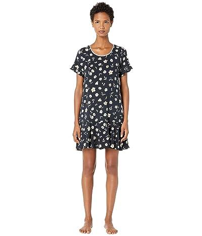 Kate Spade New York Modal Jersey Night Flora Sleepshirt (Night Flora) Women