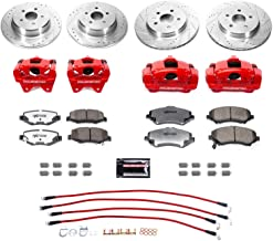 Power Stop BBK-JK-003R Front and Rear Big Brake Conversion Kit-for 2007-2019 JK/JKU