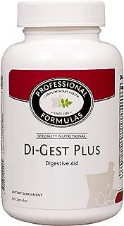 Di-Gest Plus 90ct Caps by Professional Formulas by Professional Complementary Health Formulas