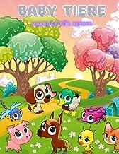 BABY TIERE - Malbuch Für Kinder (German Edition)