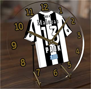 FanPlastic UCL UEFA Champions League Desktop Clocks - Any Team Colours Available - Support Your Team !!!