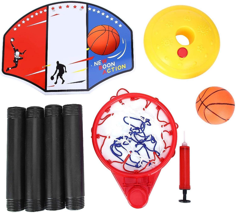 EVTSCAN Portable Adjustable Miniature Basketball Set Toy for Tra