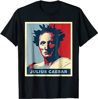 Gaius Julius Caesar Poster Style Pop Art T-Shirt