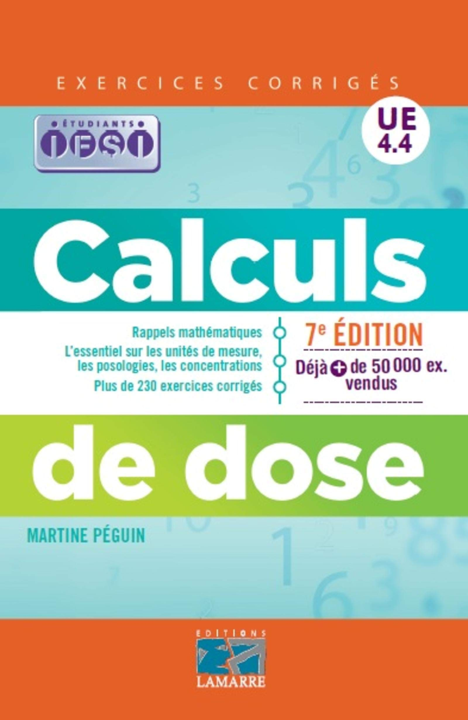 Download Calculs De Dose: Exercices Corrigés. 